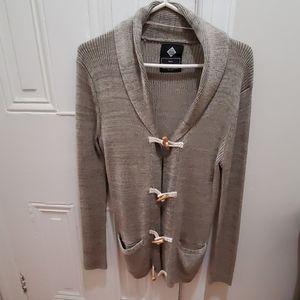 3/4 length cardigan
